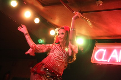 Buikdanseres Yasmin Jordy